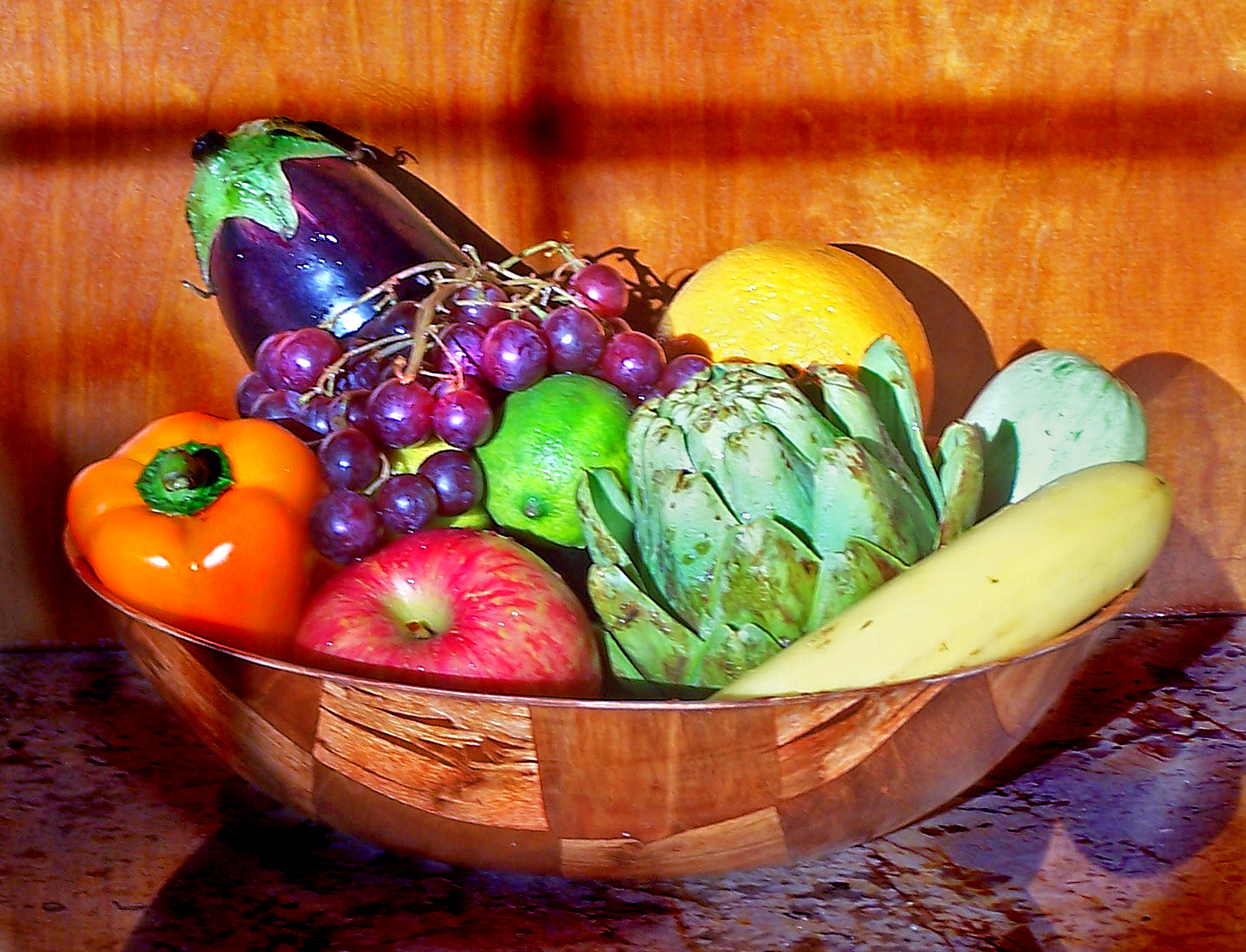 Make your meals colorful and your health will be wonderful