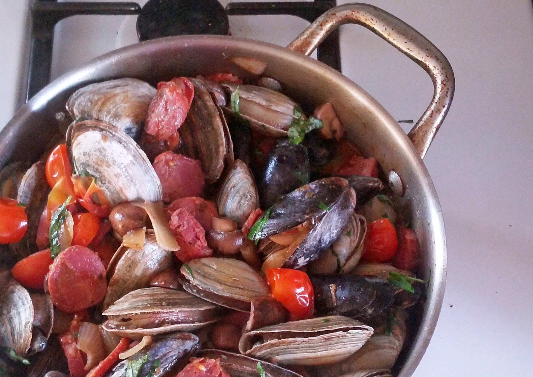 Mussel and Clam Stew