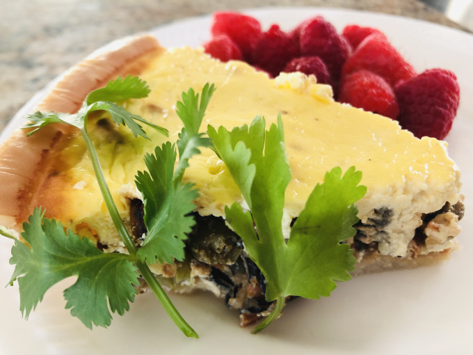 MyPlate Meal: Asian Style Quiche