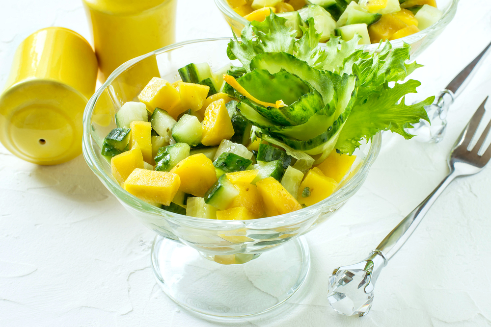East African Mango and Cucumber Salad